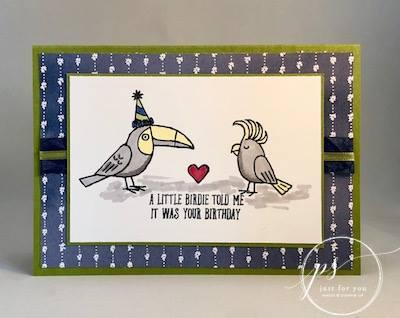 Stampin' Up! Bird Banter 4