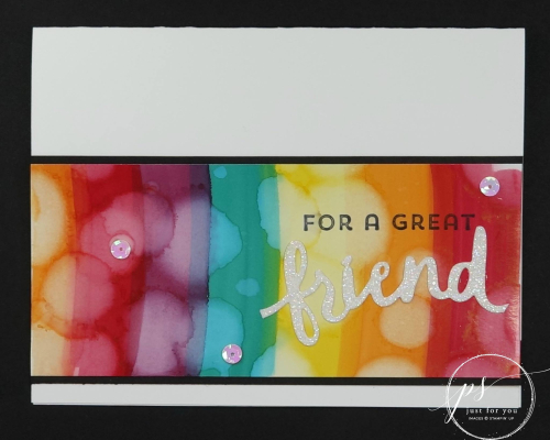 Stampin' Up! Blends Technique