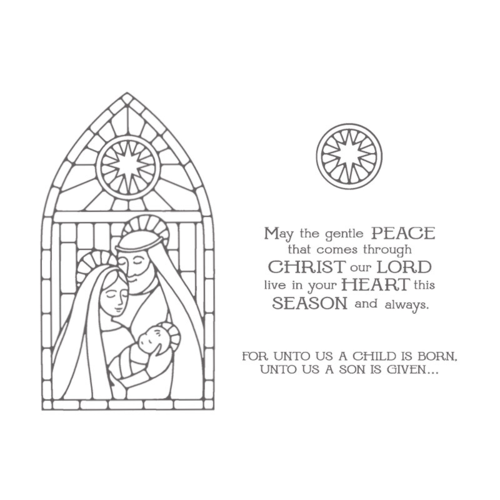 Stampin' Up! Gentle Peace Photopolymer stamp set