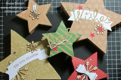 Stampin' Up! Many Merry Stars Simply Created Kit