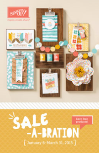 Stampin' Up! Sale-a-bration catalog