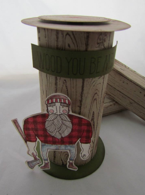 Stampin' Up! wood You Be Mine 1