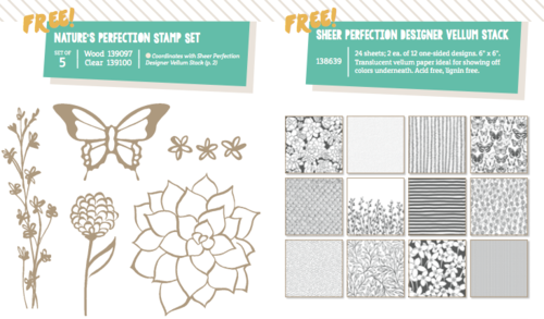 Stampin' Up! Saleabration items