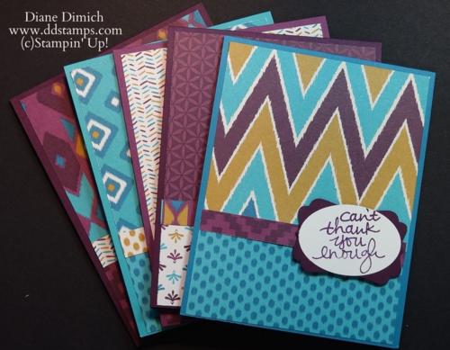 Stampin' Up! Bohemian Designer Series paper