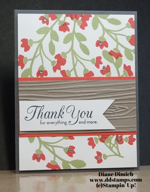 Stampin' Up! Bountiful Border
