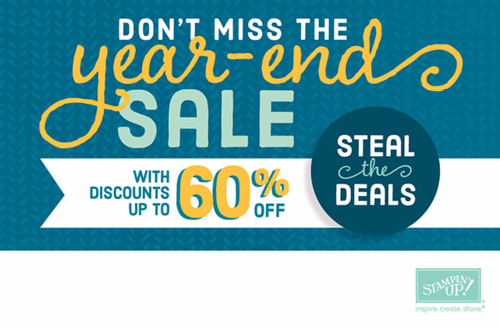 Stampin' Up! Year End Clearance Sale