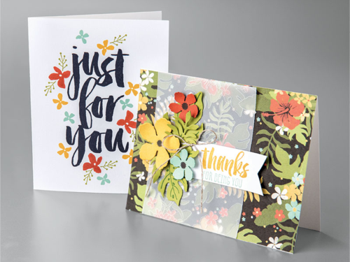 Stampin' Up! Botanical Blooms Bundle