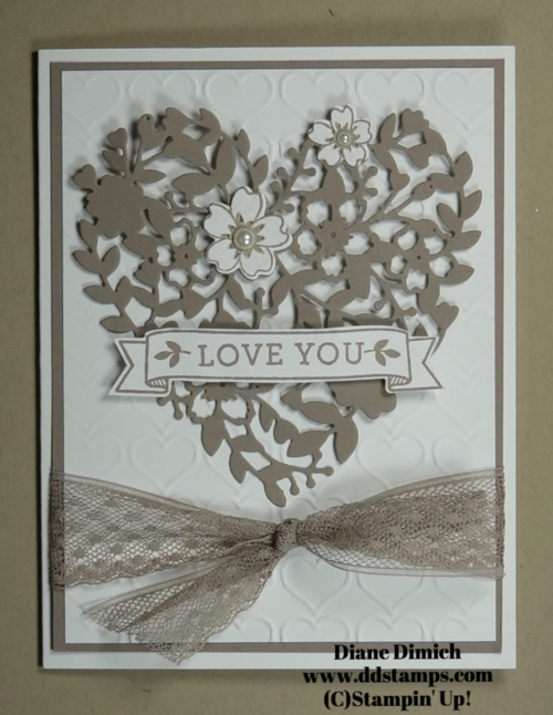 Stampin' Up! Bloomin' Love