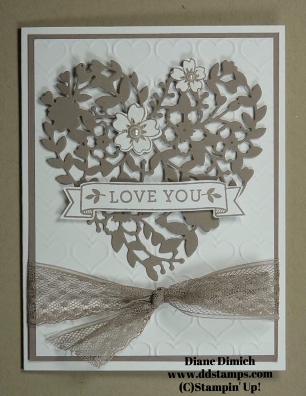 Stampin' Up! Bloomin' Love Bundle~ A Wedding Card - DDStamps