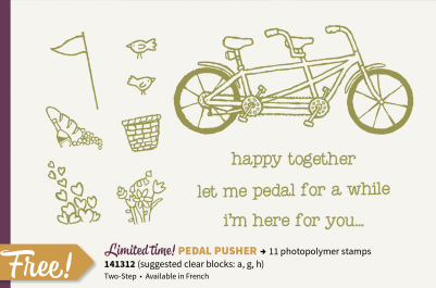 Stampin' Up! Pedal Pusher Sale-a-bration
