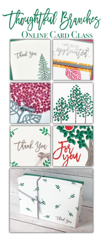 Stampin' Up! Thoughtful Branches ideas