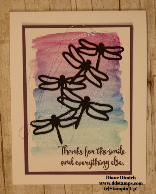 Stampin' Up! Dragonfly Dreams