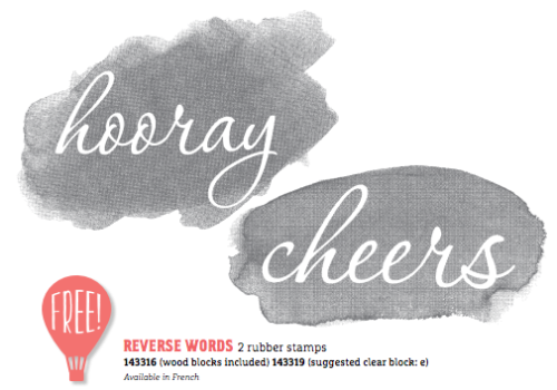 Stampin' Up! Reverse Words
