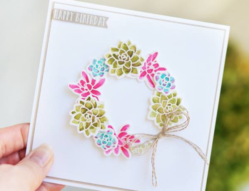 Stampin' Up! Oh, So Succulent