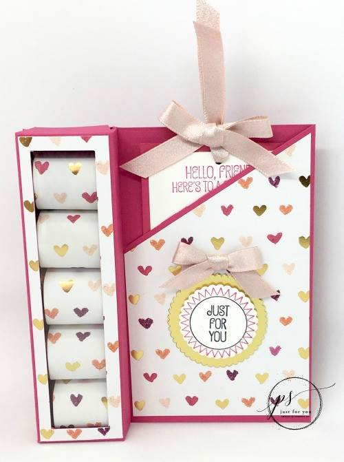 Stampin' Up! Candy Box Card