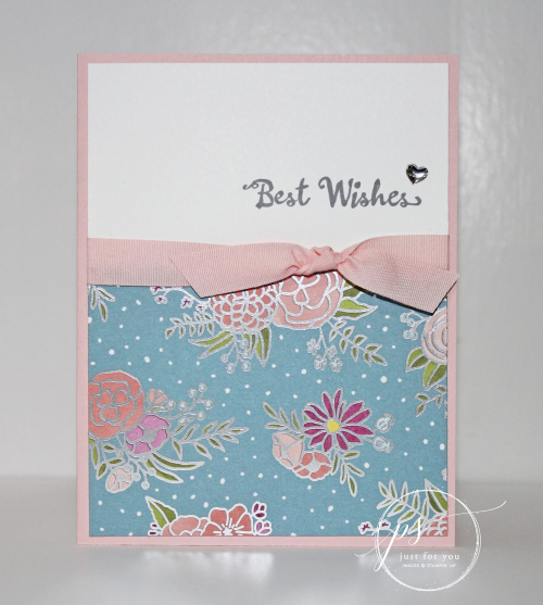 Stampin' Up! Best Wishes