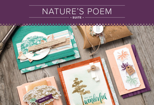 Stampin' Up Nature's Poem