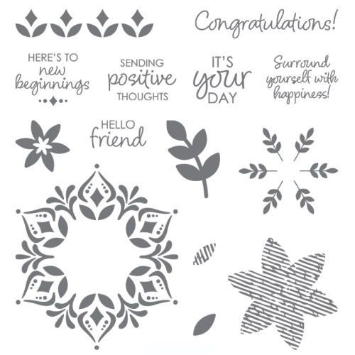 Stampin' Up! Happiness Surrounds