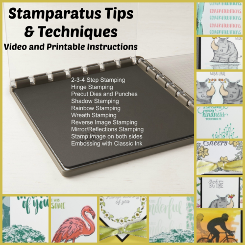 Stamparatus Tips and Techniques