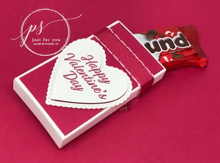 Meant to be valentine treat box back