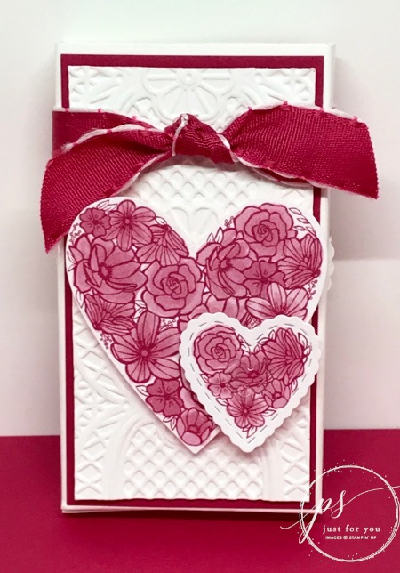 Meant to be valentine treat holder front