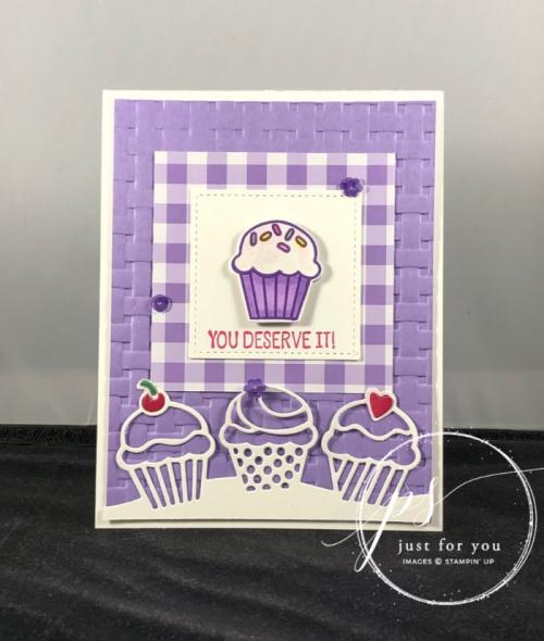 Birthday cheer cupcakes