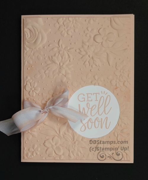 Stampin' Up! Country Floral & Healing Hugs