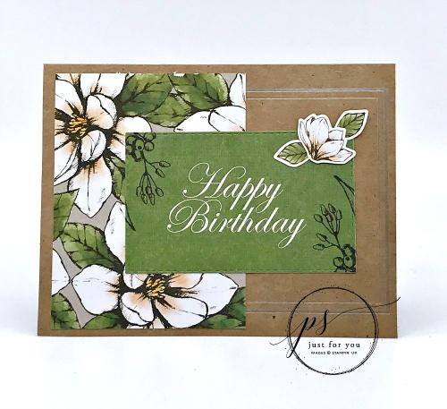 Magnolia Lane Happy Birthday