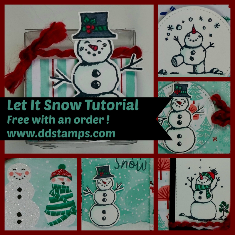 October Tutorial- Let it Snow