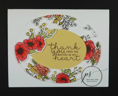 Bloom & Grow Press and Seal Card