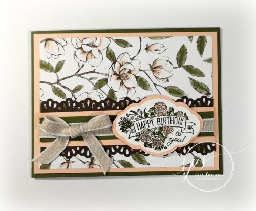 Label Me Pretty Magnolia Card