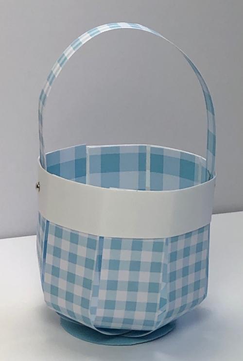 Basket 3 gingham