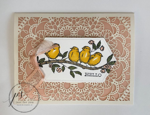Free as a bird laser-cut hello