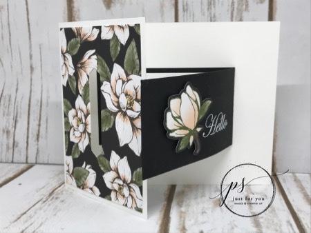 Good Morning Magnolia Buckle Card2