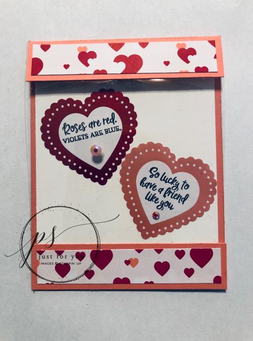 Heartfelt card