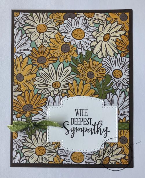 Ornate garden sympathy