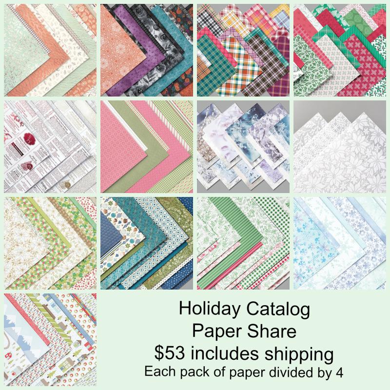 Holiday Catalog Paper Share