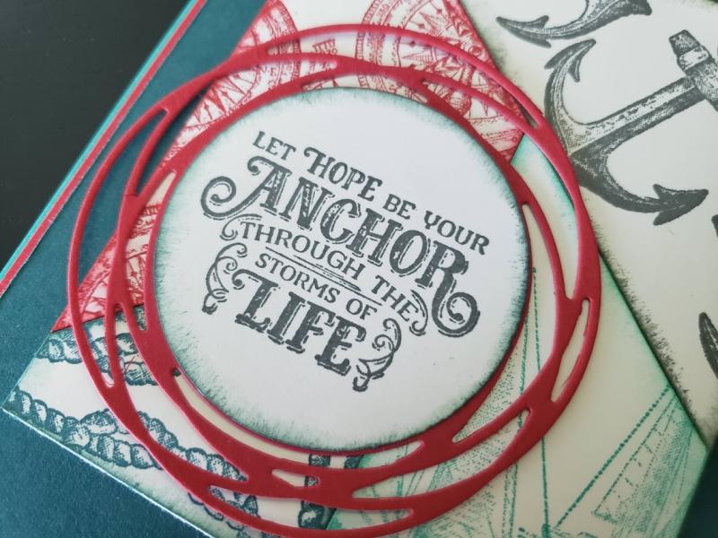 Anchor Through Life closeup