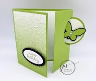 Oval Occasions Circle Flap Fold Card2