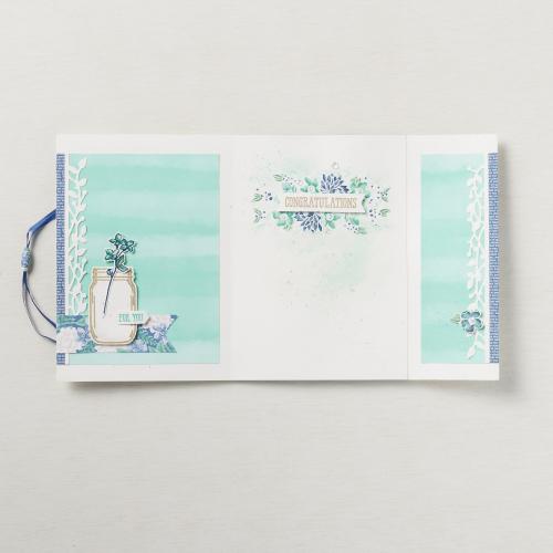 inside Sara and Shelli's card