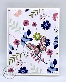 Floating & Fluttering on Paper Blooms