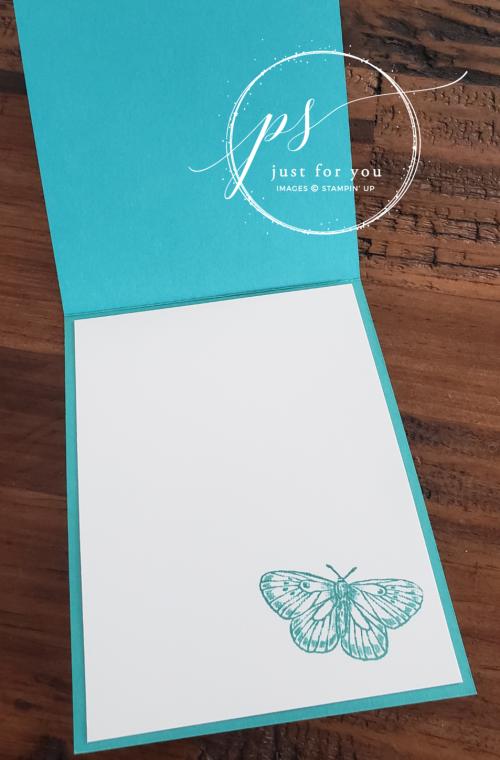 Butterfly Brilliance Fun Fold Card 2