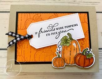 Id pick you pumpkin